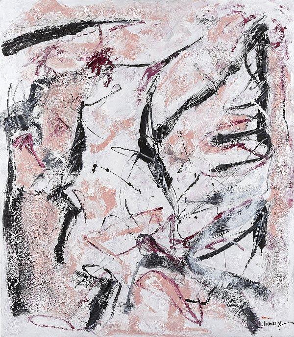 Arte Contemporânea Tela Cravina 80 x 60 cm