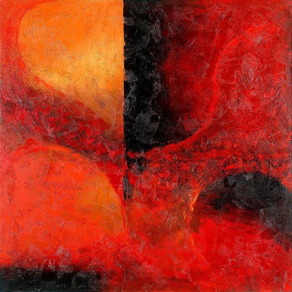 Arte Contemporânea Tela Emotions 70 x 70 cm