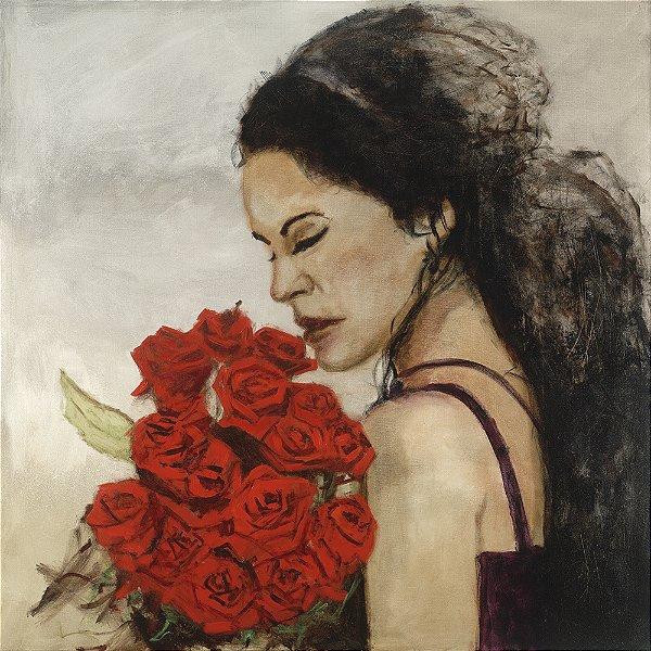 Arte Contemporânea Tela Esther 70 x 70 cm