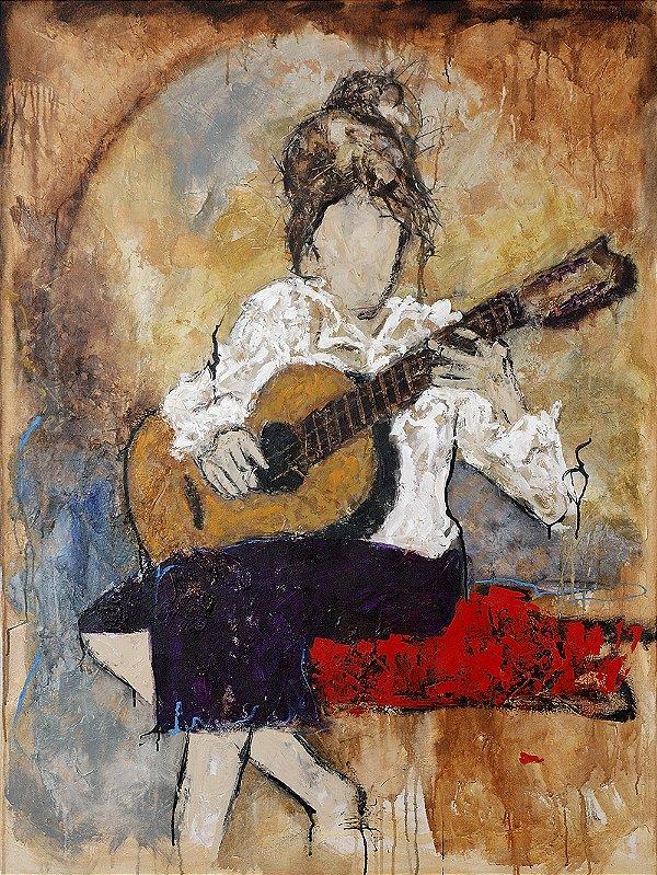 Arte Contemporânea Tela Fernanda 80 x 60 cm