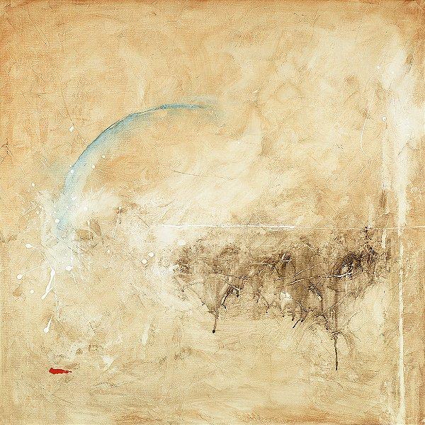 Arte Contemporânea Tela Genesis 70 x 70 cm