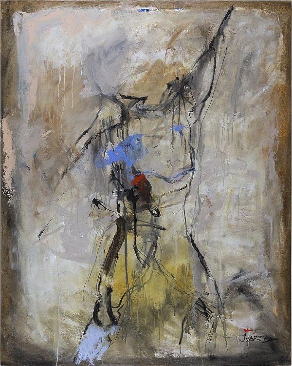 Arte Contemporânea Tela Human Being 80 x 60 cm