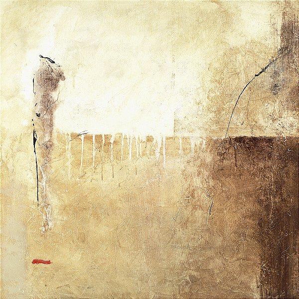Arte Contemporânea Tela Let There be Light 70 x 70 cm
