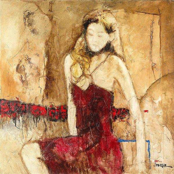 Arte Contemporânea Tela Ruth 80 x 60 cm