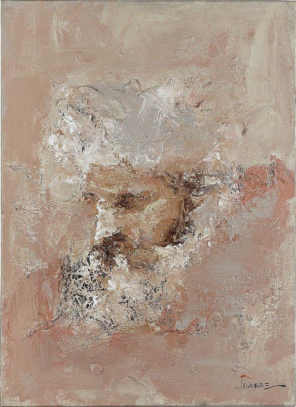 Obra Original Pintura sobre Tela, Sabedoria, Acrílica, 72 x 53 cm