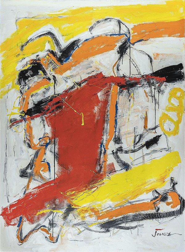 Obra Original Pintura sobre Tela, Kindo of Magic, Acrílica, 184 x 135 cm