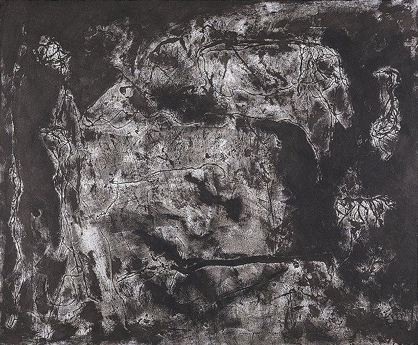 Obra Original Pintura sobre Tela, Atividade Cerebral, Óleo, 150 x 180 cm