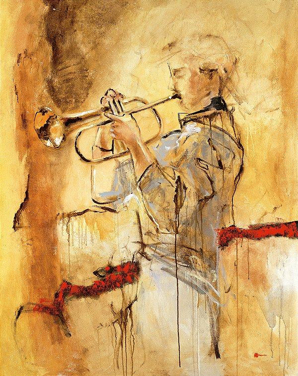 Obra de Arte Tela Deep Breath 150 x 120 cm