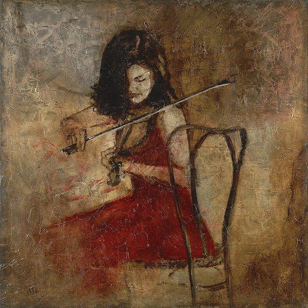 Obra de Arte Tela Ensaio 135 x 135 cm