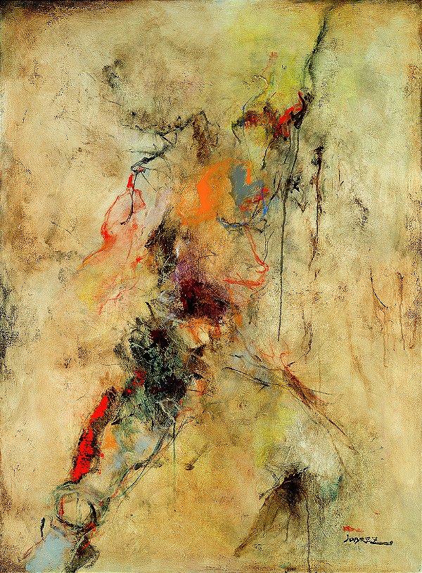 Obra de Arte Tela Graceful Creation 150 x 120 cm