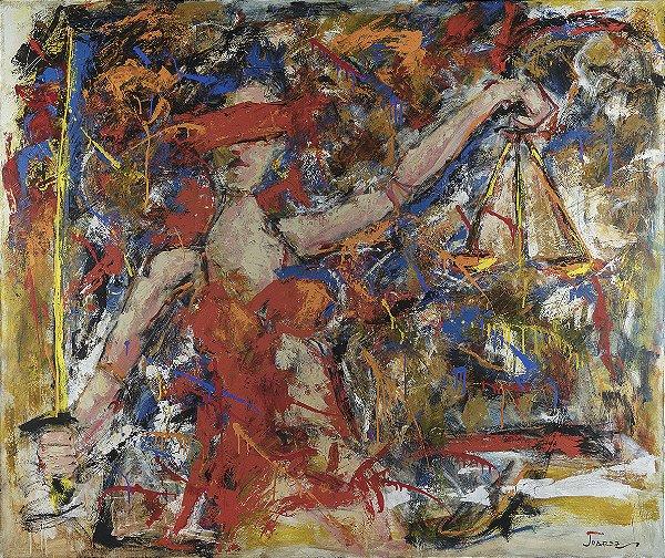 Obra de Arte Tela Justice 120 x 150 cm