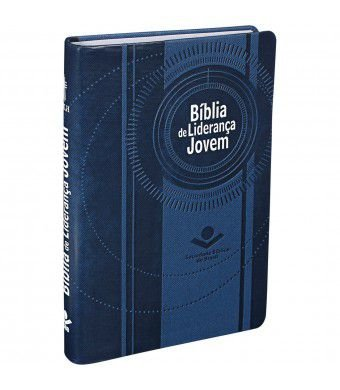 Bíblia de Liderança Jovem Capa azul