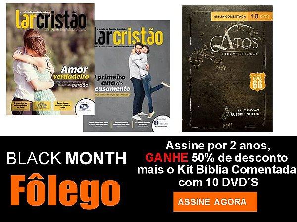 Assinatura Revista Lar Cristão - 02 anos (ATOS DOS APÓSTOLOS)
