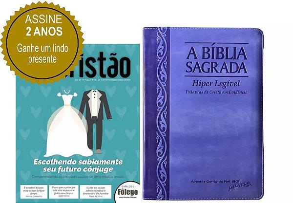 Assinatura Revista Lar Cristão - 02 anos (Bíblia Sagrada Híper Legível)