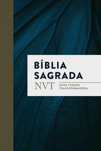 Bíblia Sagrada NVT - Azul Marinho