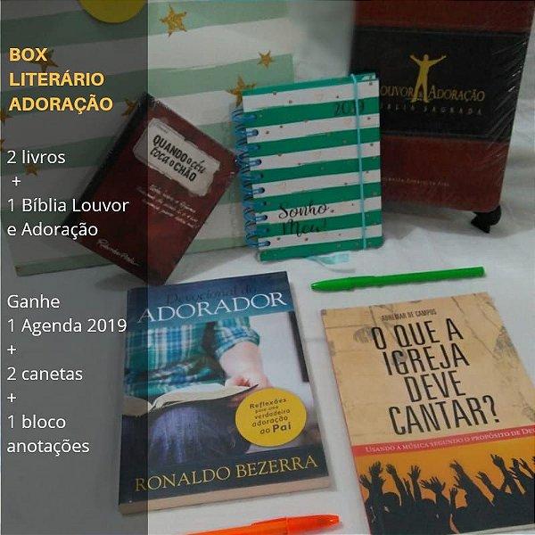 Box Literário Adoração