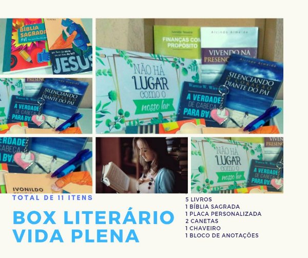 Box Literário Vida Plena