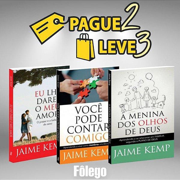 Pague 2 Leve 3 - Livros Jaime Kemp