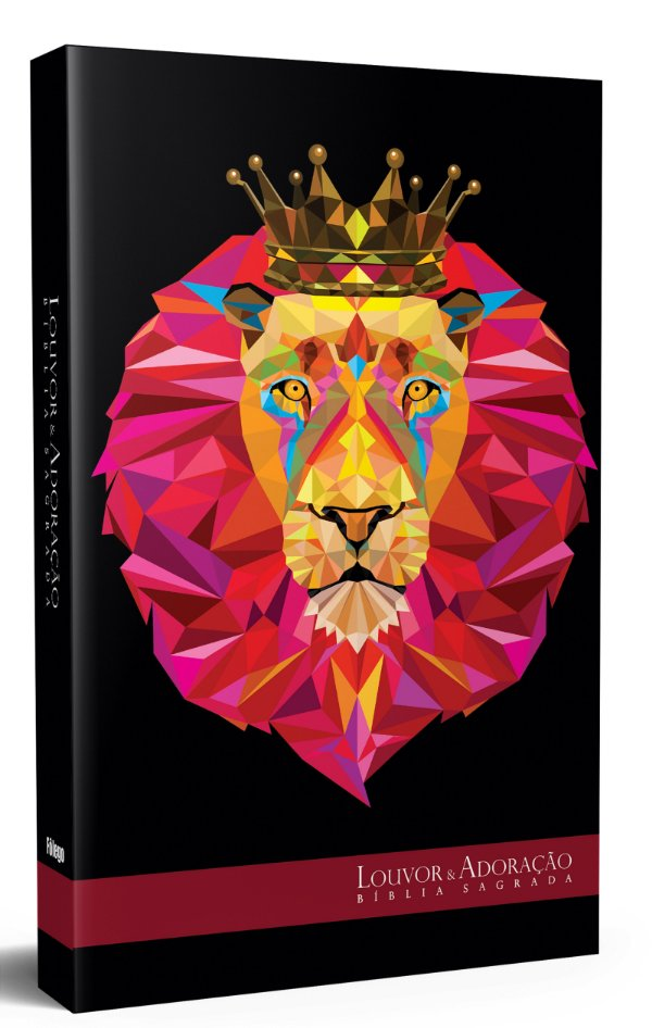 Bíblia de Estudo Louvor e Adoração Leão