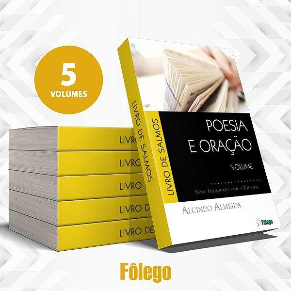 Coleção Poesia e Oração em Salmos - 5 volumes