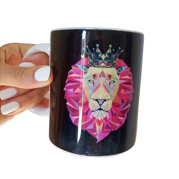Caneca Leão Rei