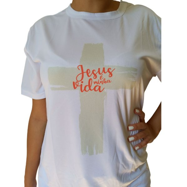 Camiseta Jesus Vida