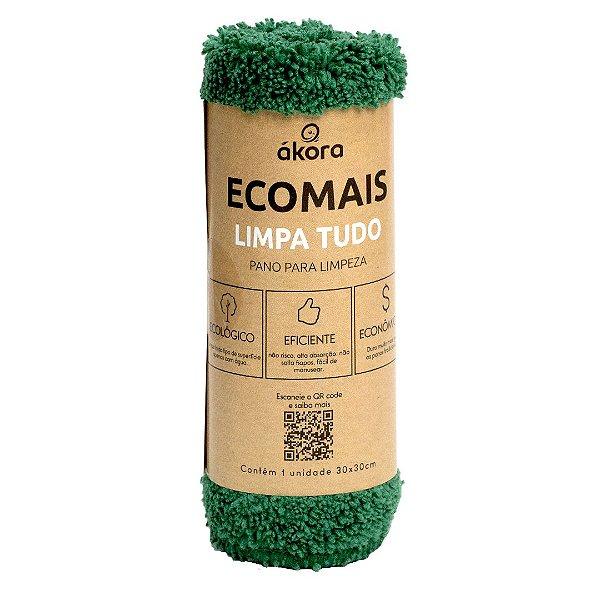 Pano de Limpeza  - Limpa Tudo Ecomais - Verde Escuro