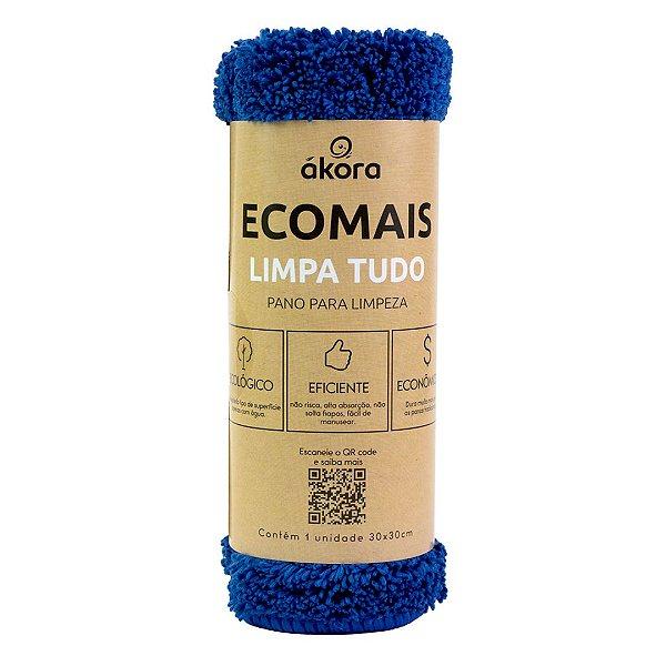 Pano de Limpeza - Ecomais Limpa Tudo - Azul Escuro