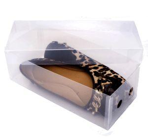 Caixa de Sapato Transparente - Rasteirinhas