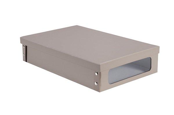 Organizador com Visor Bege 310X490X105