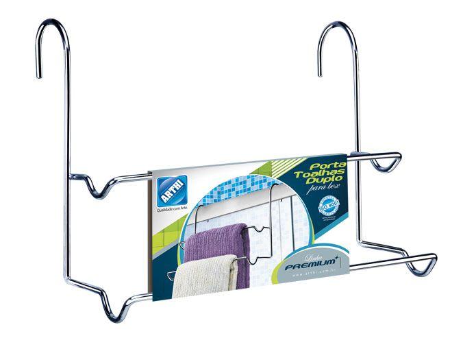 Porta Toalha Duplo Premium