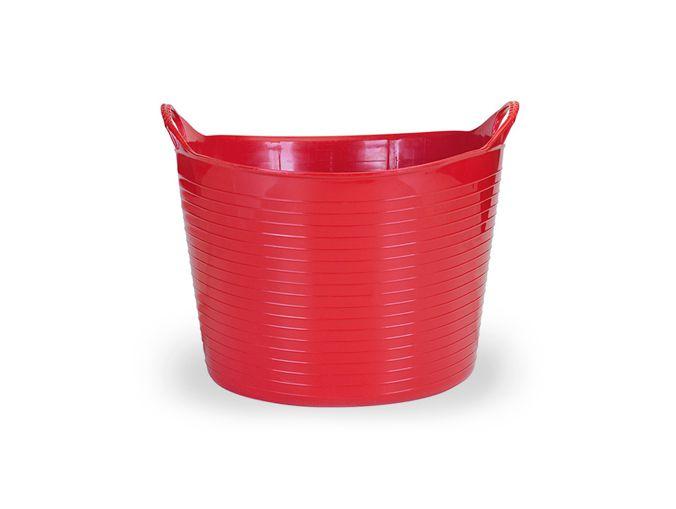Cesto Flexível 15 Lts - Vermelho