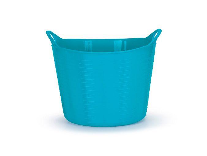 Cesto Flexível 20 Lts - Azul Tifany