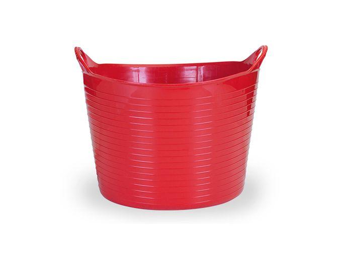 Cesto Flexível 20 Lts - Vermelho