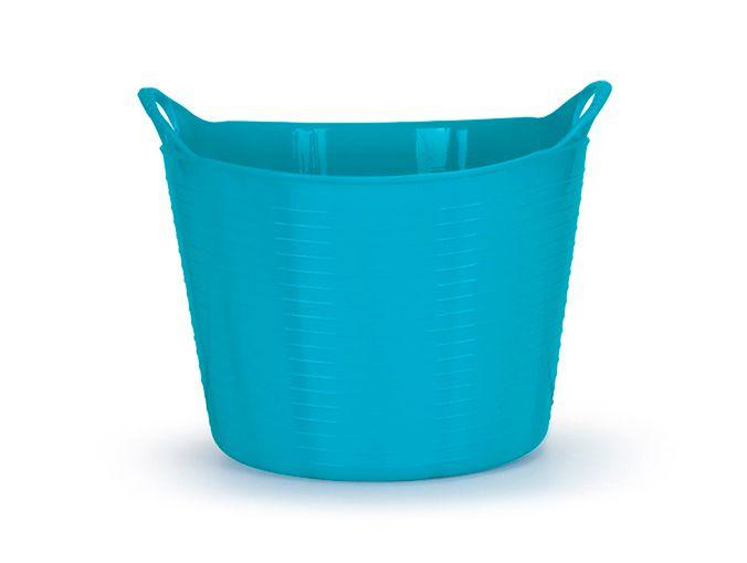 Cesto Flexível 25Lts - Azul Tifany