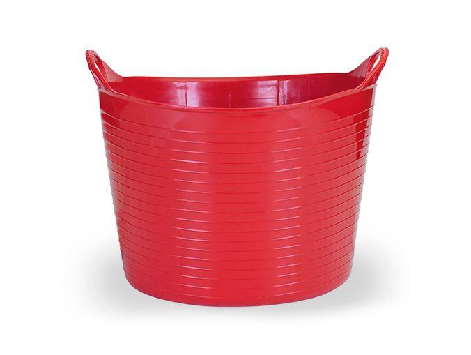Cesto Flexível 25 Lts - Vermelho