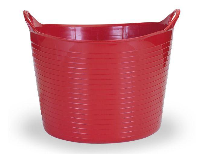 Cesto Flexível 42 Lts - Vermelho