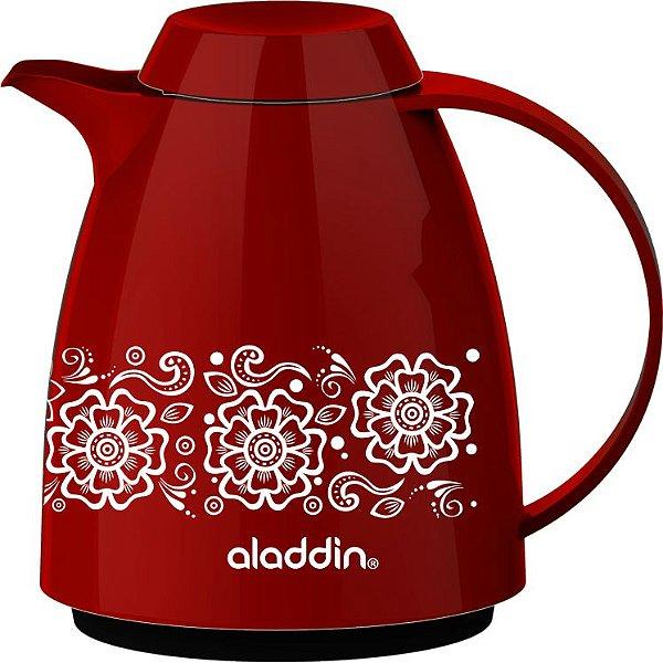 Bule Térmico Floral Buque 0.4L - Vermelho