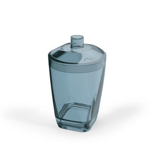 Porta Algodão  Premium - Azul