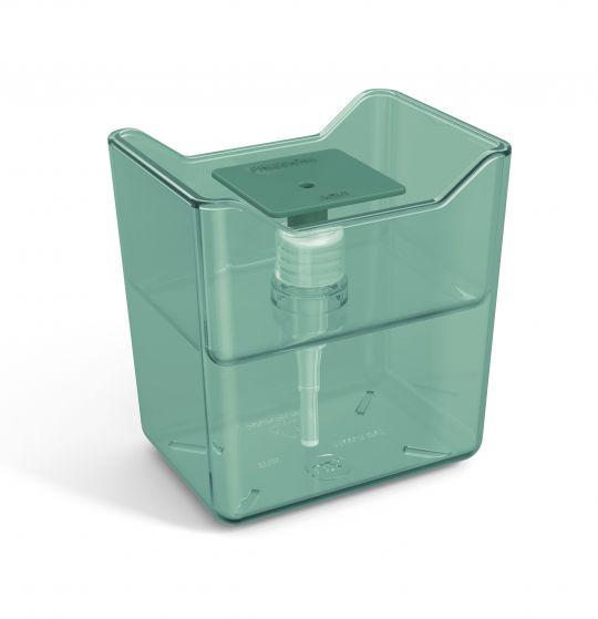 Dispenser de Detergente Acrílico Premium - Verde Água