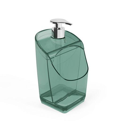 Dispenser de Detergente Acrílico - Verde Água