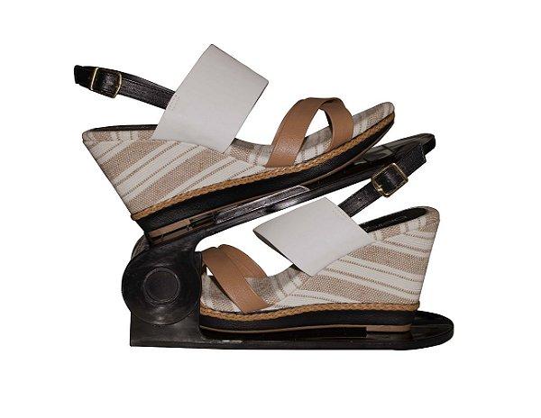 Organizador de Sapatos Regulável - Preto