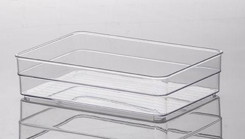 Organizador Cristal Diamond  22,5x15x5,2cm