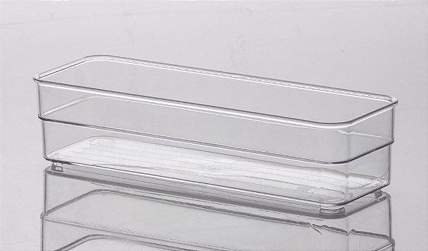 Organizador Cristal Diamond 22,5x7,5x5,2cm
