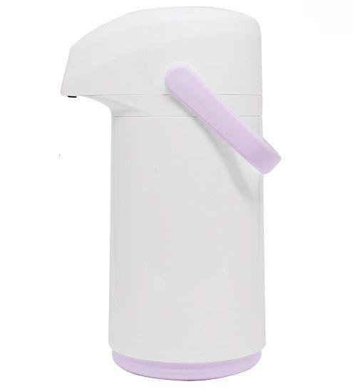 Garrafa Térmica Massima - 0.5L - Branco e Rosa