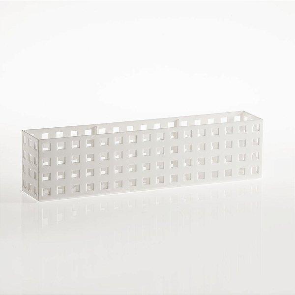 Organizador Empilhável Quadratta 32 X 5,7 X 8,0cm - Branco