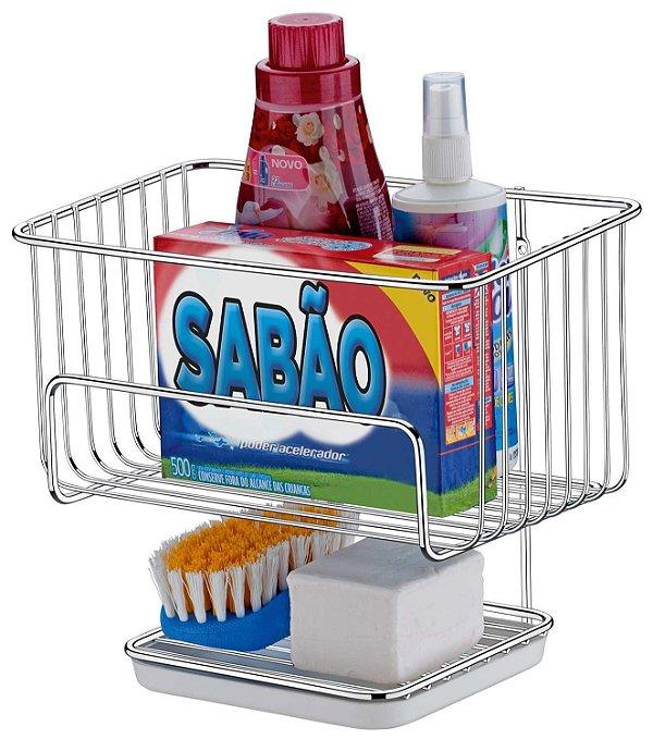Porta Sabão e Escova