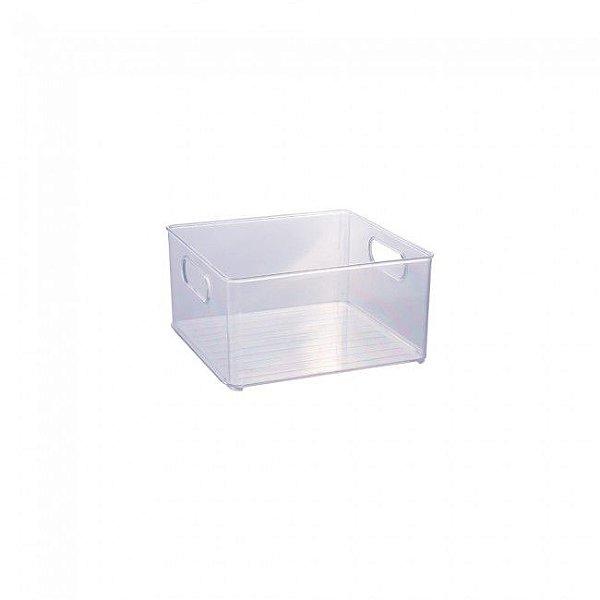 Organizador Multiuso Transparente 20 x 20x 10,4 cm