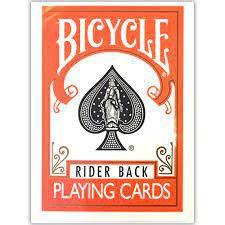 Bicycle Rider Back Laranja