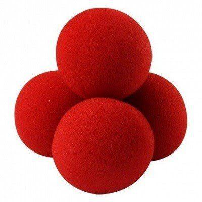 Bolinhas de espuma Vermelha